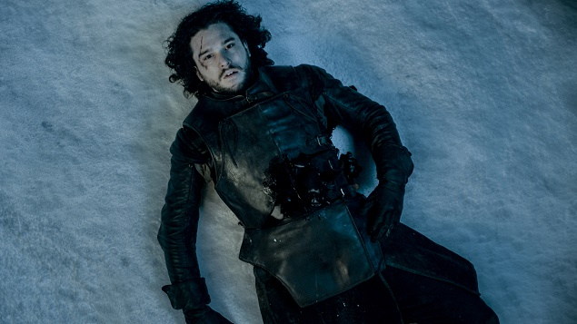 Kit Karington as Jon Snow in Season 5 of Game of Thrones. Photo courtesy of HBO.