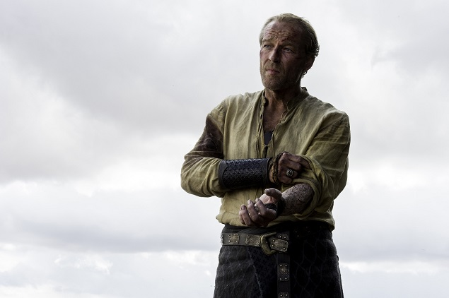 Iain Glen as Ser Jorah in Season 6 of Game of Thrones. Photo Credit: Macall B. Polay/courtesy of HBO.