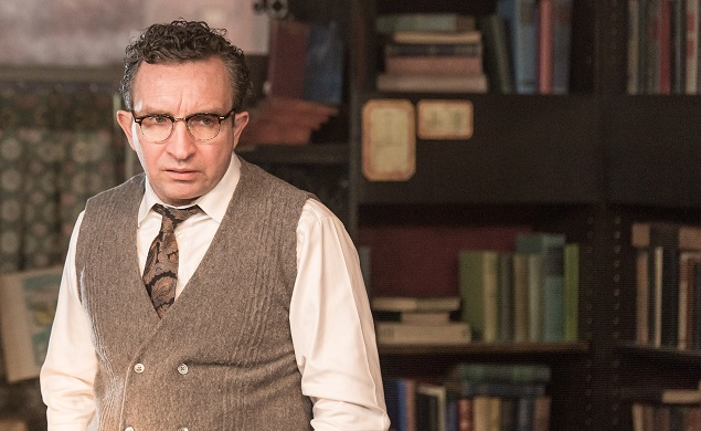Pictured: Eddie Marsan as Kimmel in Andy's Goddard's A Kind of Murder. Photo Credit: Brian Douglas, Copyright © 2015 Blunderer Holdings, LLC.