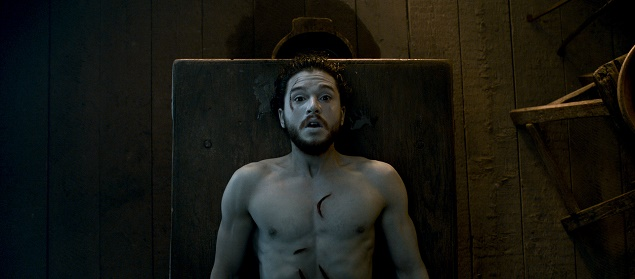 Kit Harington as Jon Snow in GoT's Season 6, episode 2. Photo Credit: HBO.
