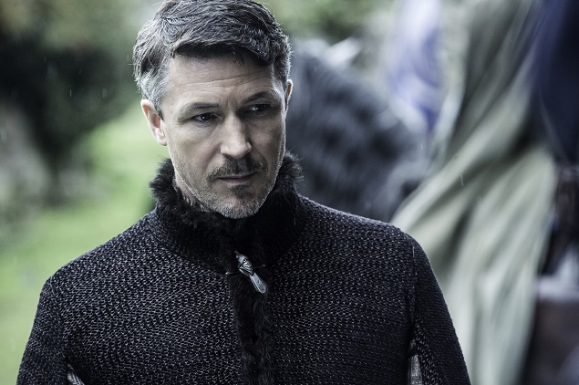 Aidan Gillen as Littlefinger in Season 6 of Game of Thrones. Photo Credit: Helen Sloan/courtesy of HBO.