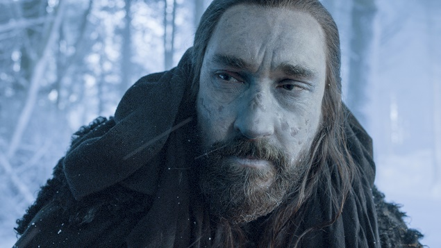 Joseph Mawle as Uncle Benjen in Season 6 of Game of Thrones. Photo Credit: courtesy of HBO.
