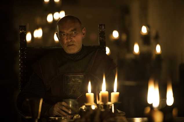 James Faulkner as Lord Randyll Tarly in Season 6 of Game of Thrones. Photo Credit: Macall B. Polay/courtesy of HBO.