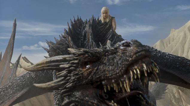 Emilia Clarke as Daenerys Targaryen in Season 6 of Game of Thrones. Photo Credit: courtesy of HBO.