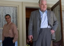 """Philip Seymour Hoffman as Lancaster Dodd and Joaquin Phoenix as Freddie Quell in """"The Master."""" Photo Courtesy of: The Weinstein Company."""