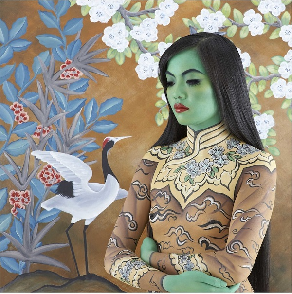 """""""The Oriental"""" from the """"Beautiful Women"""" collection by Emma Hack. Photo Credit: Emma Hack."""