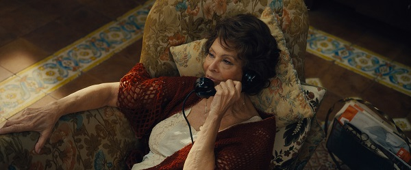 "Pictured: Sophia Loren stars as Angela in the Italian short ""Human Voice."" Photo Credit: Rodrigo Prieto."