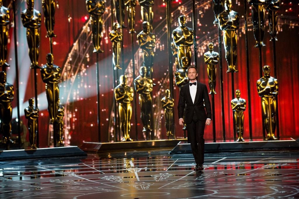 Oscar® Host Neil Patrick Harris onstage during the live ABC Telecast of The 87th Oscars® at the Dolby® Theatre. Photo Credit: Michael Yada / ©A.M.P.A.S.