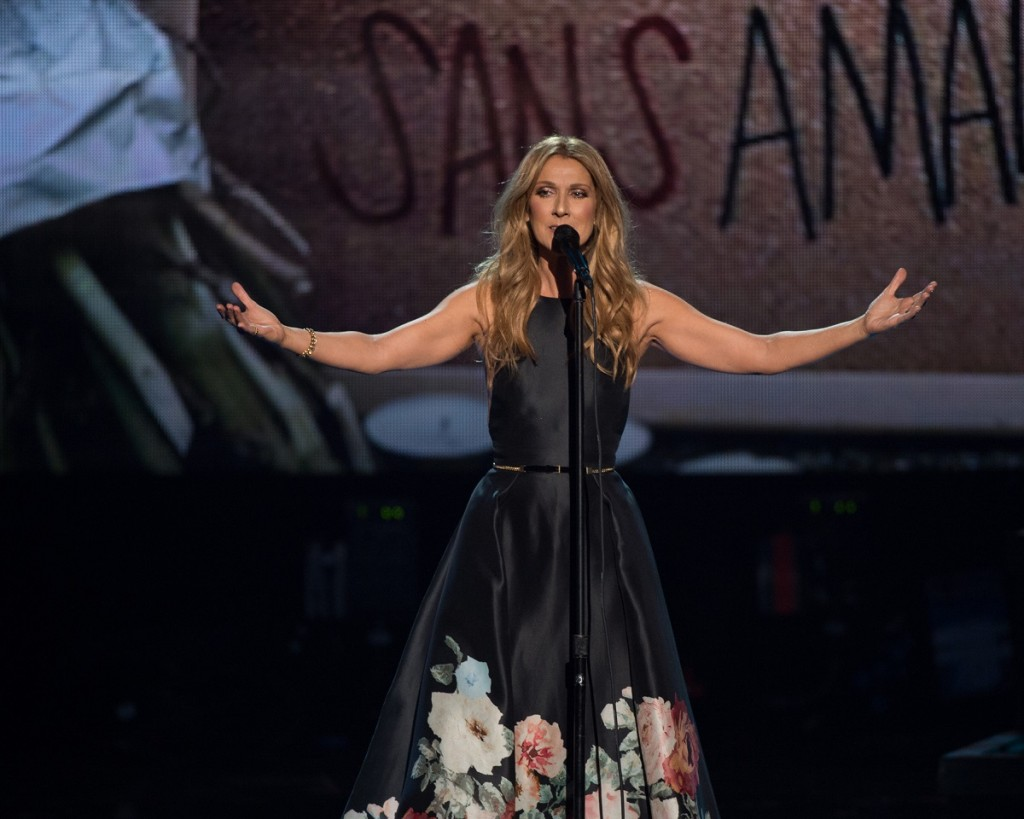 Celine Dion delivered a touching tribute during Sunday night's American Music Awards. Photo Credit: Image Group LA/ABC.