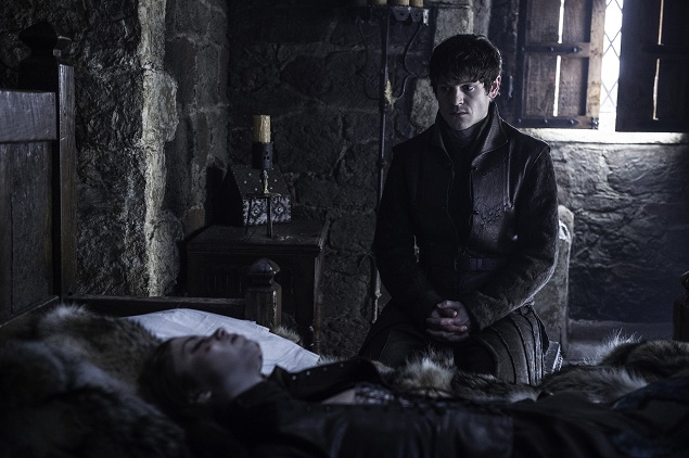 Iwan Rheon as Ramsay Bolton. Photo Credit: Helen Sloan/courtesy of HBO.