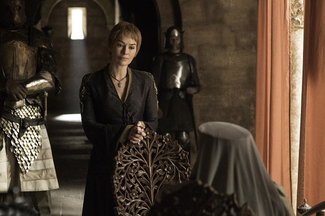 Lena Headey as Cersei Lannister in Season 6 of Game of Thrones. Photo Credit: Helen Sloan/courtesy of HBO.
